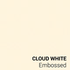 Cloud White Embossed