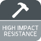 High Impact Resistance Icon 80x80